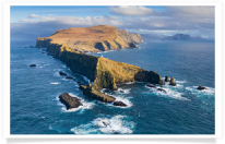 Mykines Lighthouse Aerial View 2
