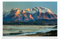 Sunrise Valley Torres del Paine