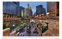 Riverside Dining in Chicago