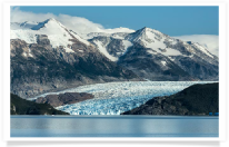 Grey Glacier and Mountains