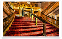 Chicago Theater Stairway