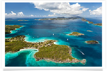 Tropical Islands - Virgin Islands, Eleuthera, Exumas, Antigua, Turks & Caicos