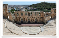 Herod Atticus Theater from Acropolis