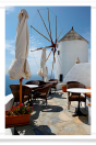 Restaurant deck and windmill