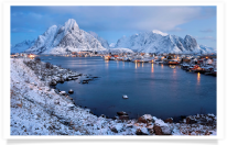 Early Morning at Reine Overlook