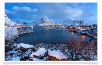 Dawn at Reine Overlook