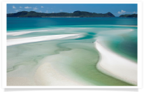 Whitsunday Island Waters and Swirling Sands