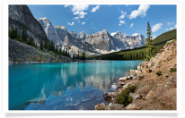 Moraine Lake Water View