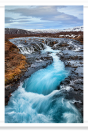 Swirling river in Thingvellir National Park