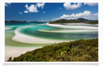 Whitehaven Beach from Hill Inlet